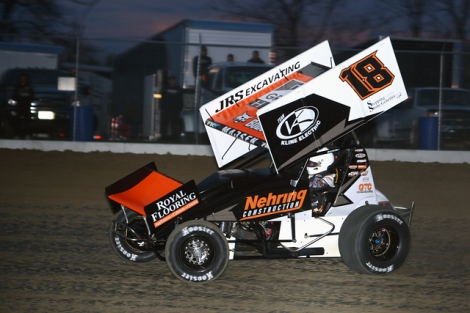 Ian Madsen Ninth with All Stars at Eldora